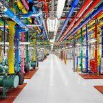 google-datacenter-tuberias agua caliente fria