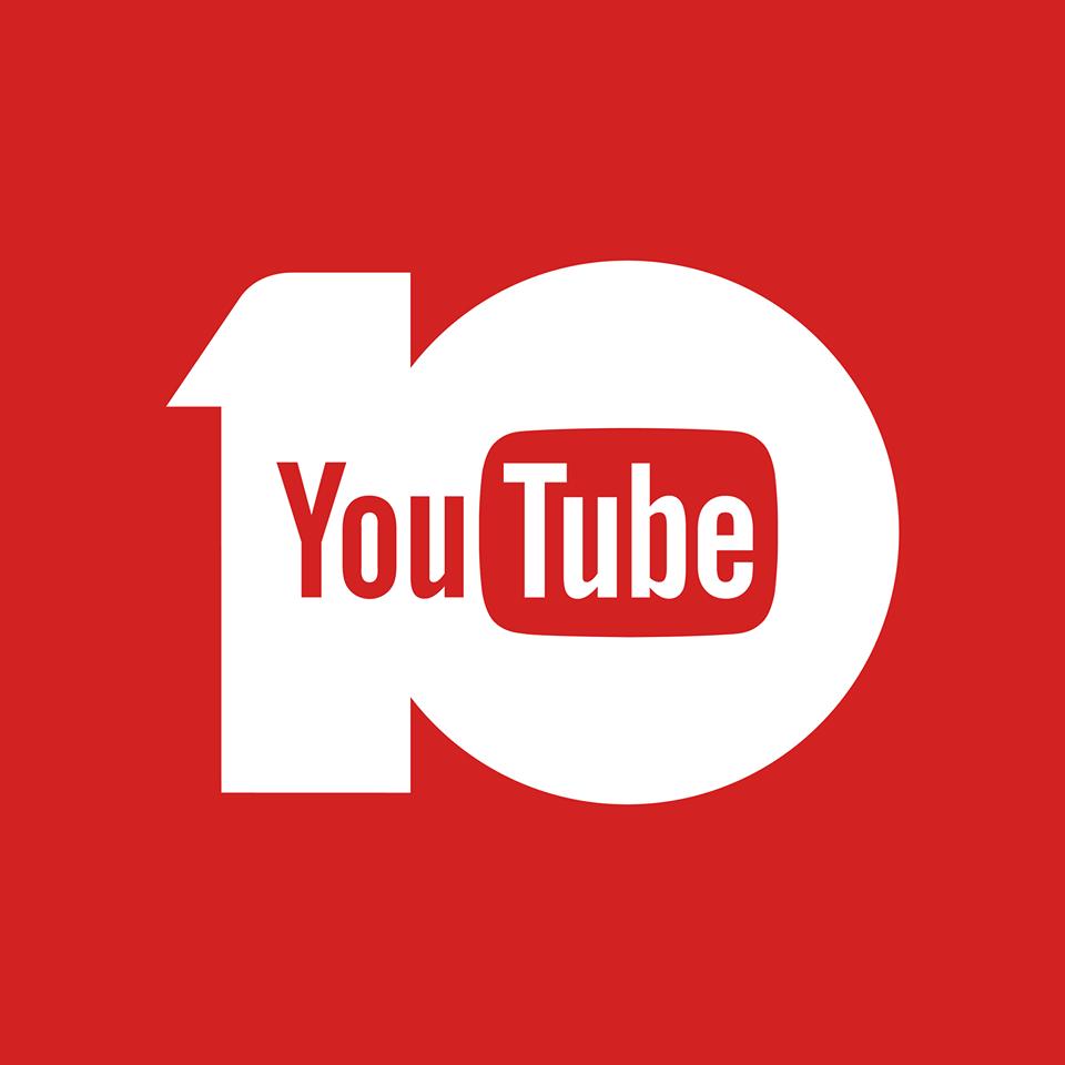 Youtube cumplió 10 años