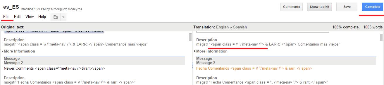 Traduciendo temas de Wordpress con poedit - Blog Trepcom
